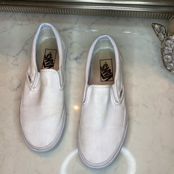white vans size 6.5